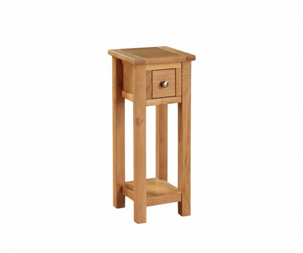 Annaghmore Hartford City Oak Telephone Stand
