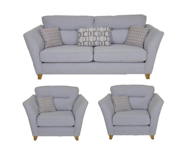 Lebus Haven Fabric 3+1+1 Sofa Set