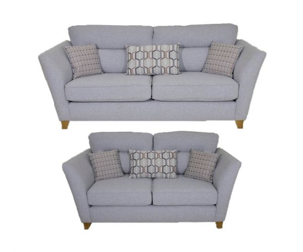 Lebus Haven Fabric 3+2 Sofa Set