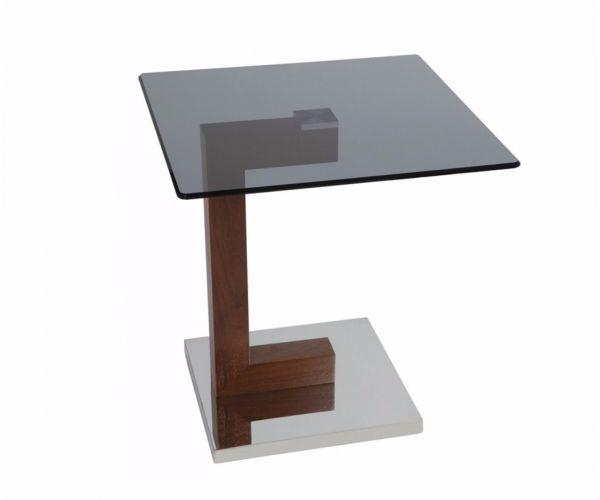 Greenapple Furniture Hazel Glass Lamp Table