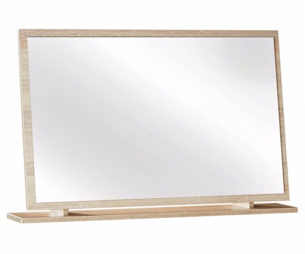 Welcome Furniture Monaco Natural Finish Large Mirror