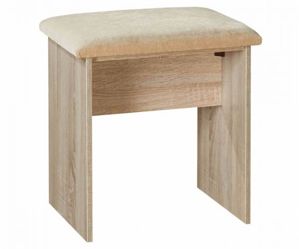 Welcome Furniture Monaco Natural Finish Stool