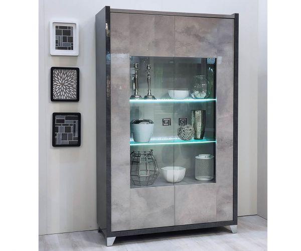 SM Italia Cilton 2 Door Display Cabinet