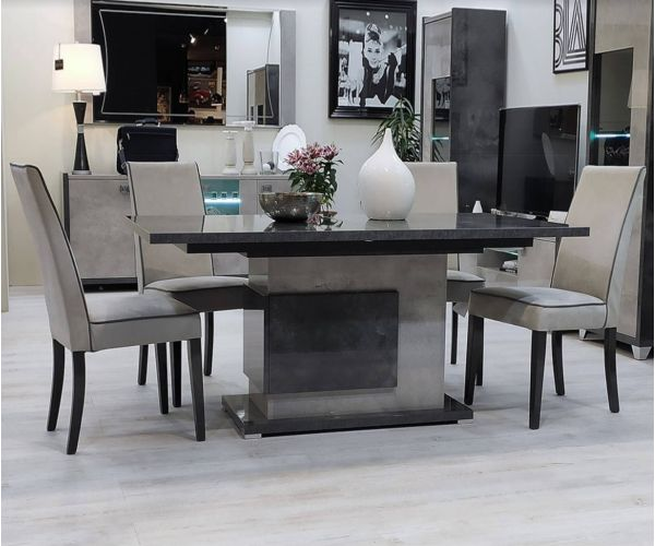 SM Italia Cilton Rectangular Extension Dining Table