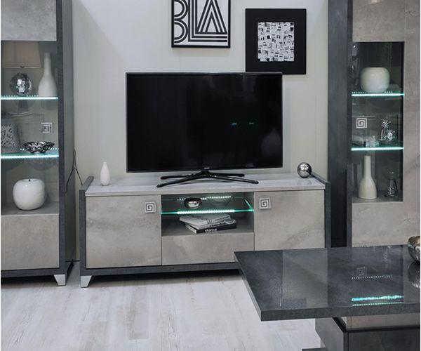 SM Italia Cilton 2 Door TV Cabinet