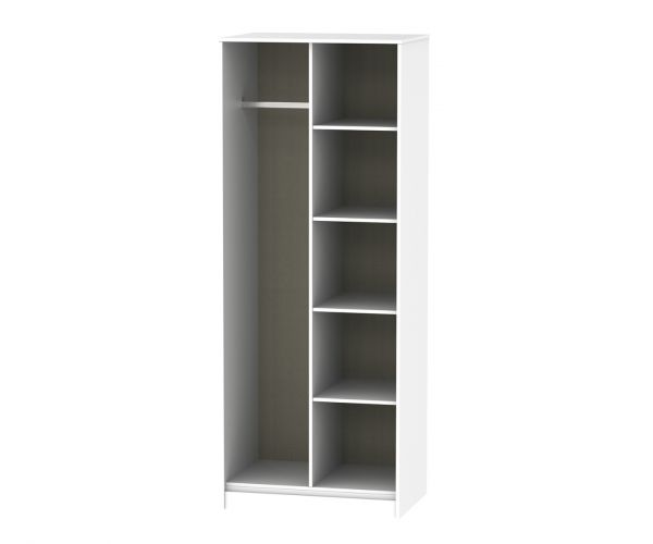 Welcome Furniture Hong Kong Kaschmir Matt Open Shelf Wardrobe