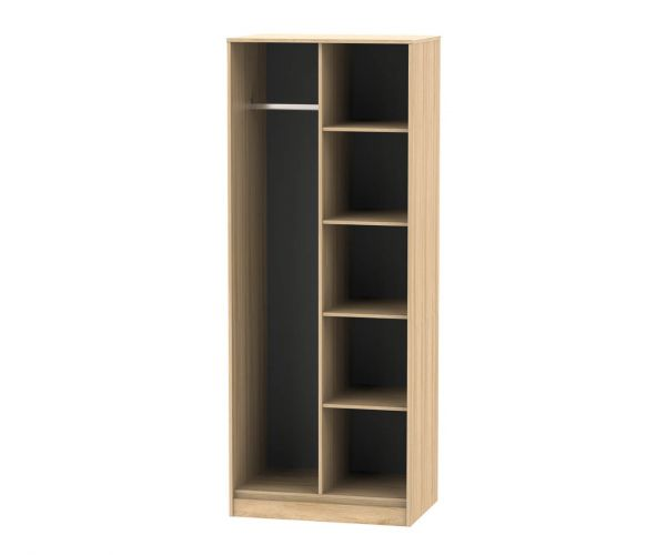 Welcome Furniture Hong Kong Nebraska Oak Open Shelf Wardrobe