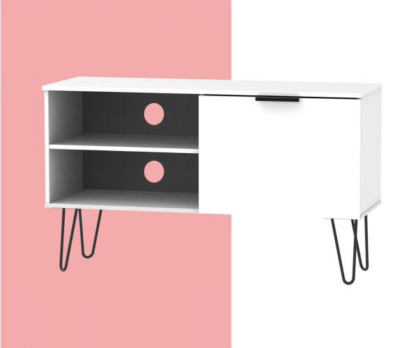 Welcome Furniture Hong Kong 1 Door 2 Shelf TV Unit