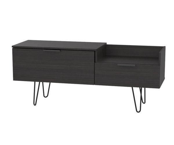 Welcome Furniture Hong Kong Black Matt TV Console Unit