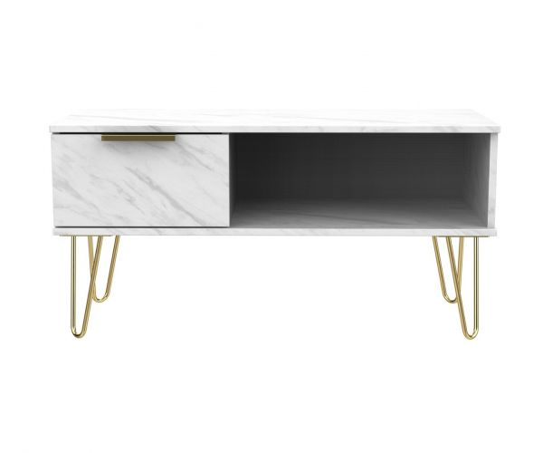 Welcome Furniture Hong Kong Marble 1 Drawer Coffee Table