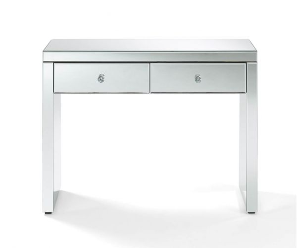 Derrys Furniture Hollywood Glass 2 Drawer Console Table