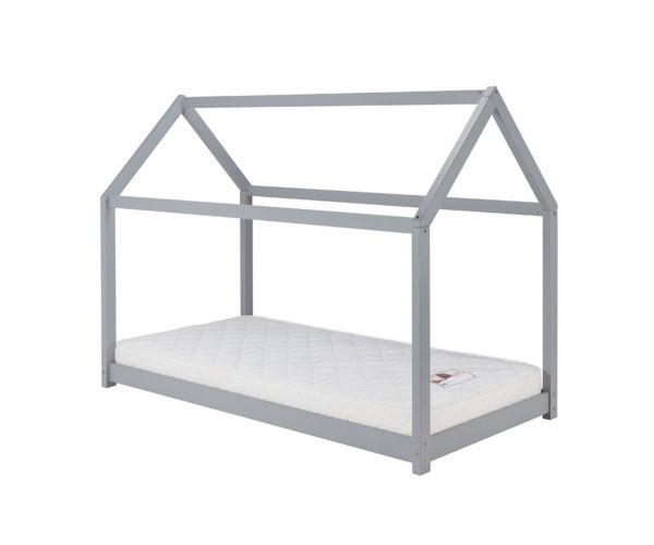 Birlea Furniture House Grey Single Kids Bed