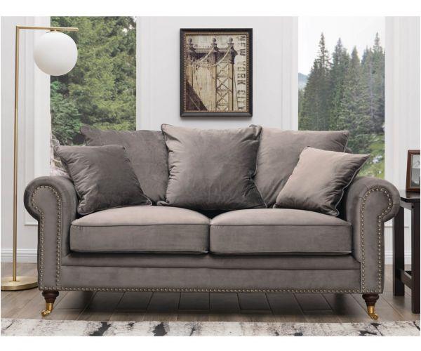 Derrys Furniture Hampton Grey 2 Seater Sofa