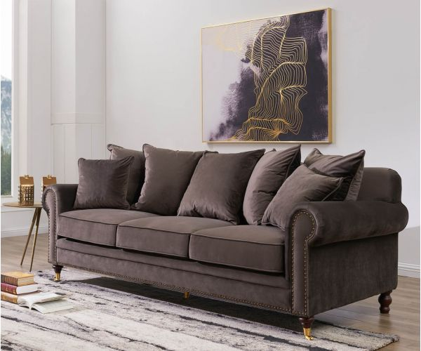 Derrys Furniture Hampton Mink 3 Seater Sofa