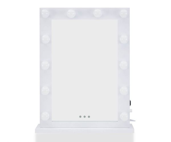 Derrys Furniture Hollywood Desktop White Mirror