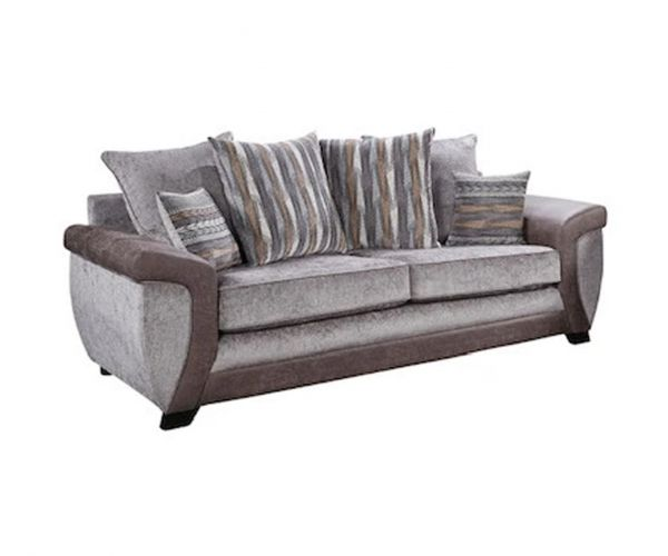 Lebus Illusion Fabric 3 Seater Sofa