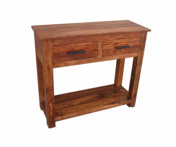 Annaghmore Madras Dark Console Table