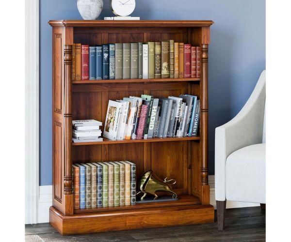 Baumhaus La Reine Mahogany Low Open Bookcase