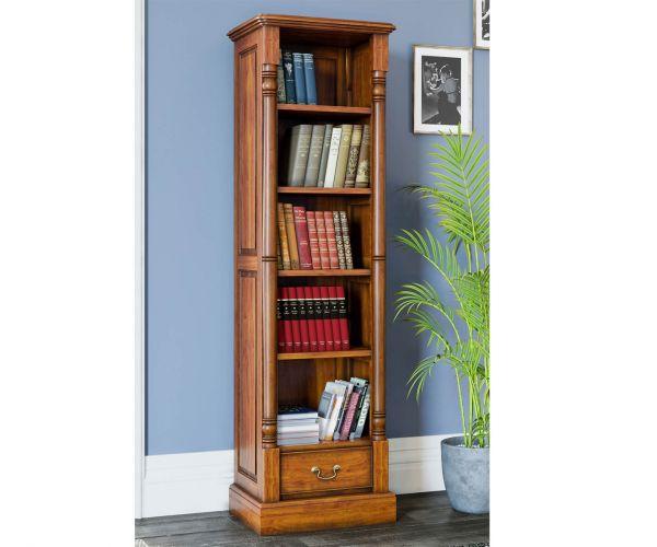 Baumhaus La Reine Mahogany Narrow Alcove Bookcase