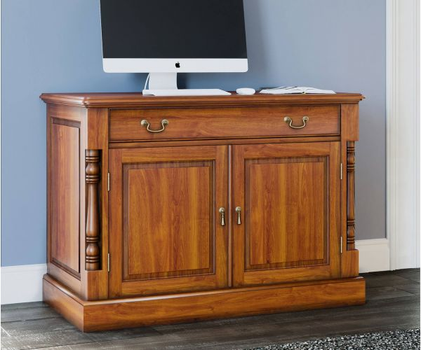 Baumhaus La Reine Mahogany Hidden Home Office Desk