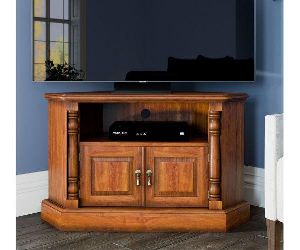 Baumhaus La Reine Mahogany Corner Television Cabinet