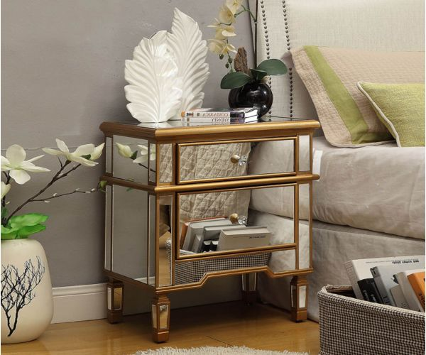 Derrys Furniture Imperial 2 Drawer Side Table