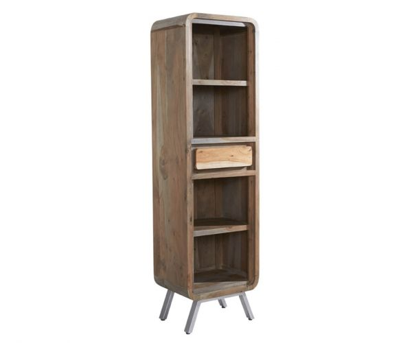 Indian Hub Aspen Narrow Bookcase