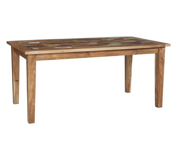 Indian Hub Coastal Reclaimed Wood Large Dining Table only