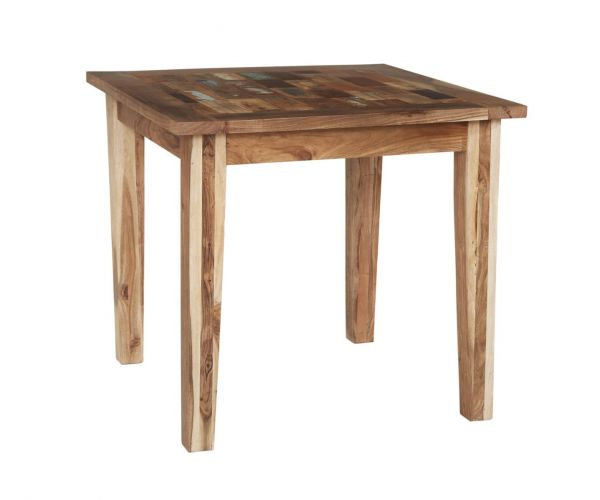 Indian Hub Coastal Reclaimed Wood Small Dining Table only