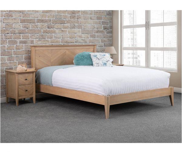 Sweet Dreams Insignia Oak Wooden Bed Frame