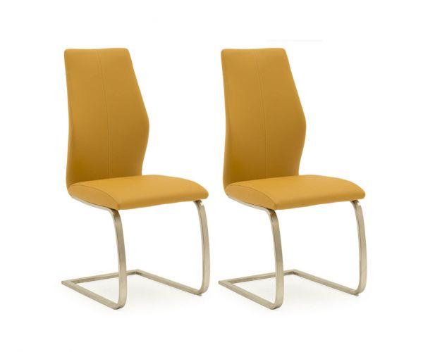 Vida Living Irma Pumpkin Dining Chair - Pair