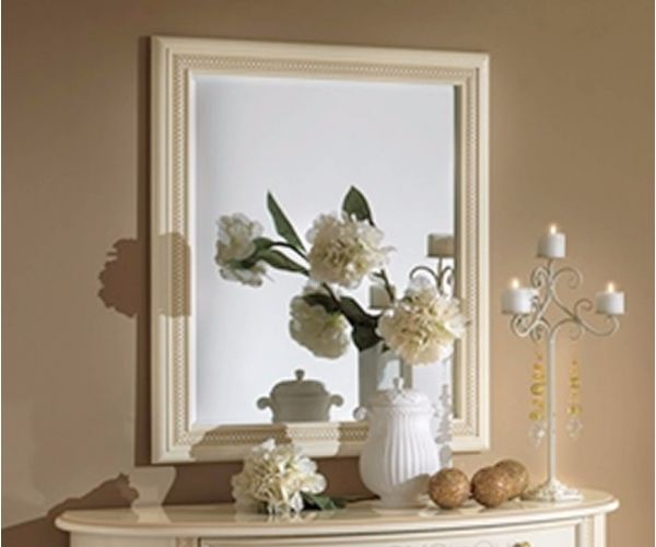 Camel Group Siena Ivory Finish Mirror