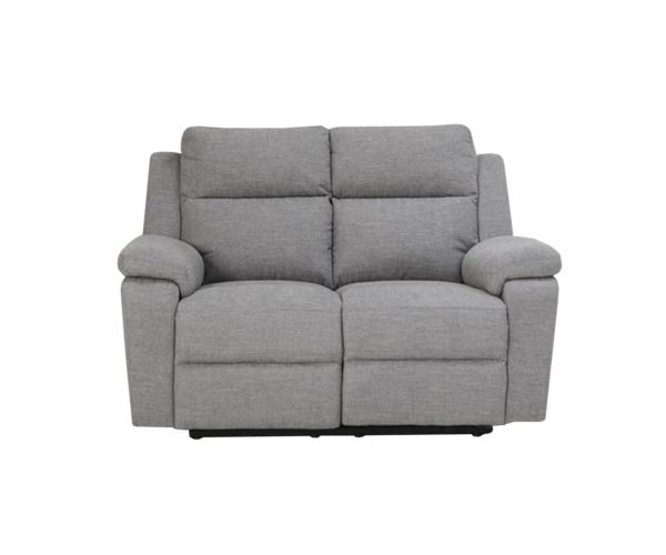 Furniture Line Jackson Fabric 2 Seater Recliner Sofa
