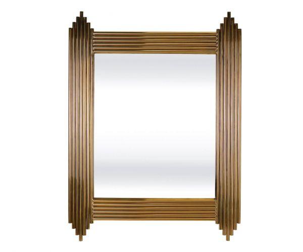 Serene Furnishings Jaipur Gold Wall Mirror