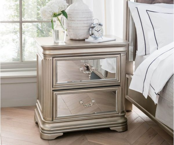 Vida Living Jessica Bedside Table