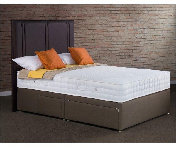 Sweet Dreams Jewel Memory 1500 Pocket Sprung Divan Bed Set