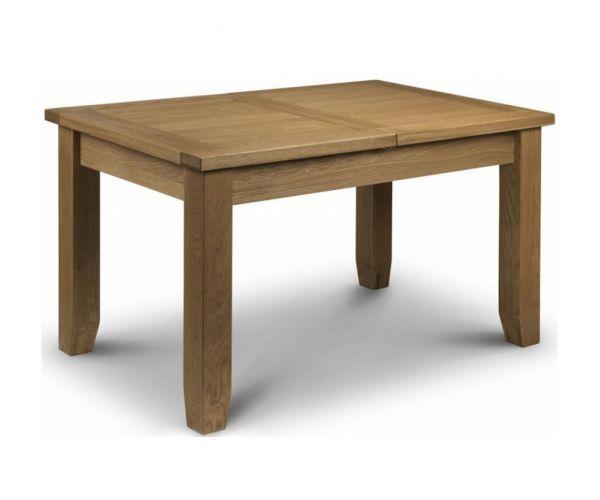 Julian Bowen Astoria Oak Extending Dining Table Only