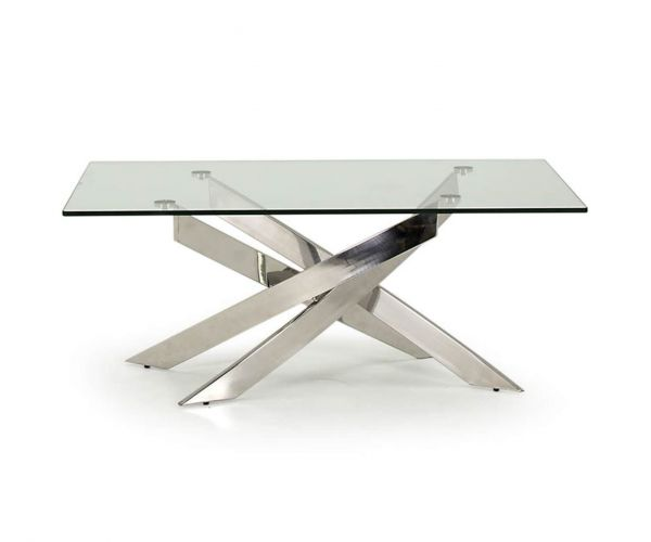 Vida Living Kalmar Glass Coffee Table