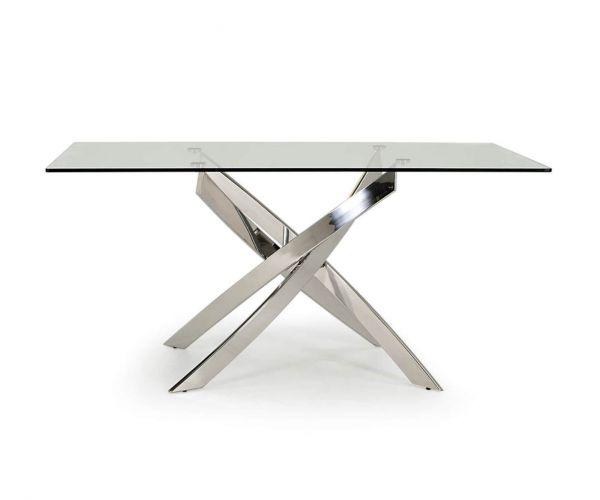 Vida Living Kalmar Glass Dining Table only