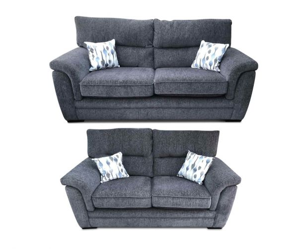 Lebus Keaton Fabric 3+2 Sofa Set