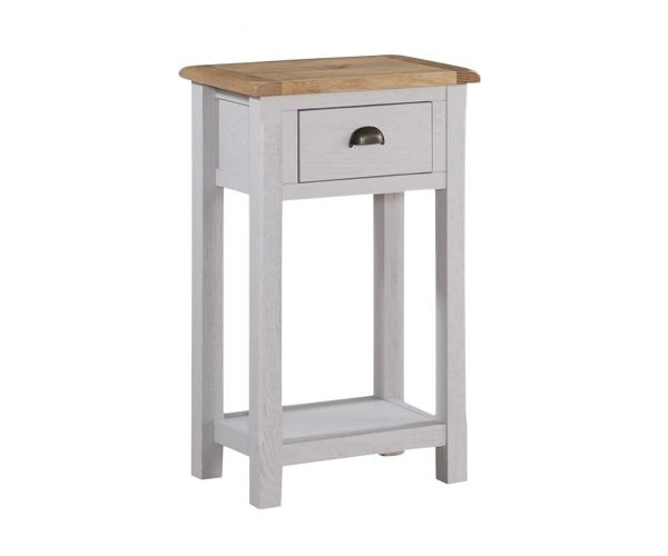 Annaghmore Kilmore Painted Medium Hall Table with 1 Drawer