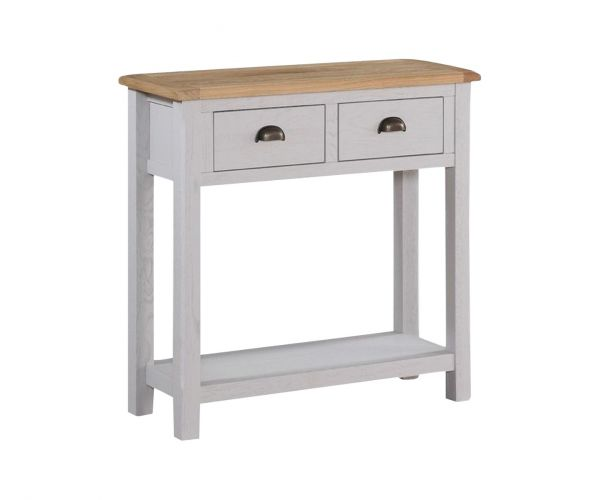 Annaghmore Kilmore Painted Large Hall Table with 2 Drawers