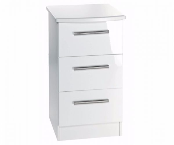 Welcome Furniture Knightsbridge 3 Drawer Locker