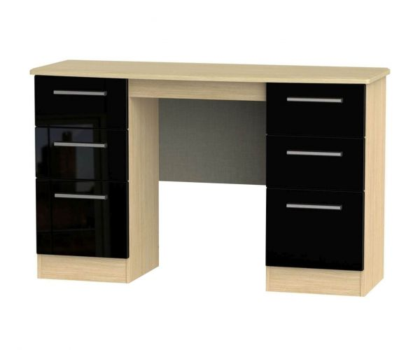 Welcome Furniture Knightsbridge 6 Drawer Kneehole Unit