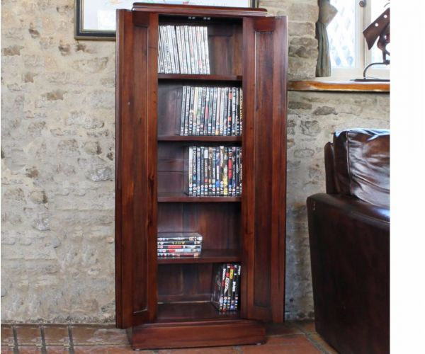 Baumhaus La Roque Dark CD/DVD Cupboard