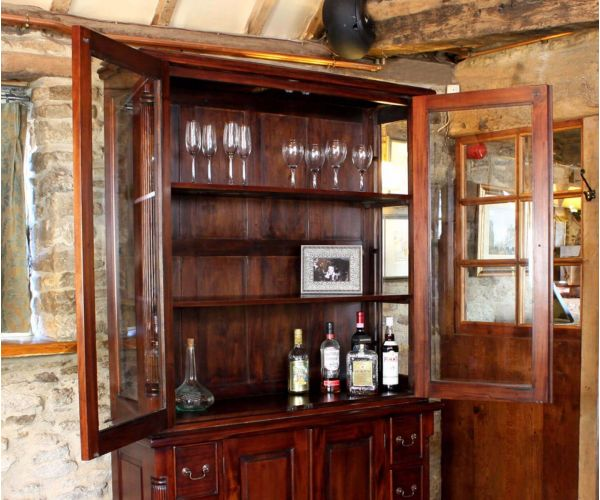 Baumhaus La Roque Mahogany Dresser Top Hutch Only
