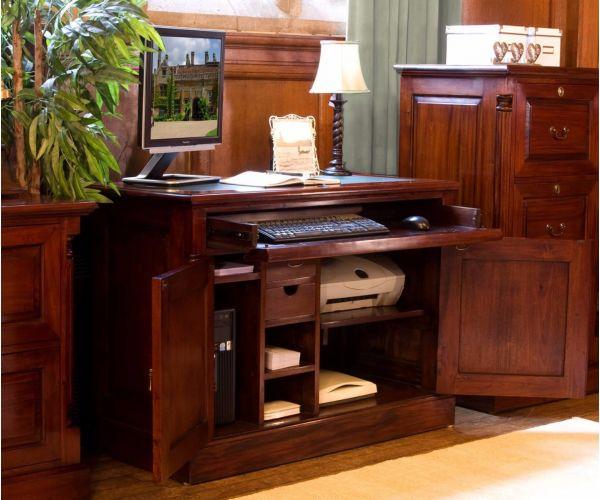 Baumhaus La Roque Mahogany Hidden Home Office Desk