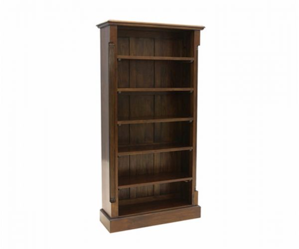 Baumhaus La Roque Mahogany Tall Open Bookcase