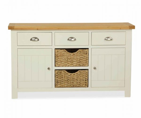 Global Home Suffolk Large Sideboard with Basket