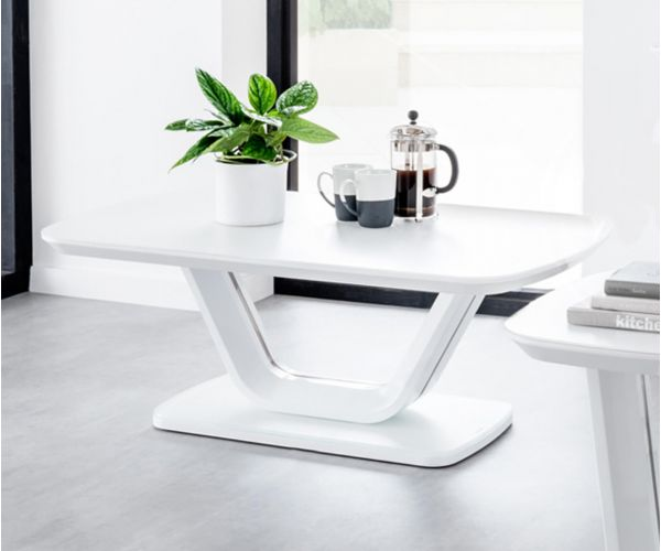 Vida Living Lazzaro White Coffee Table